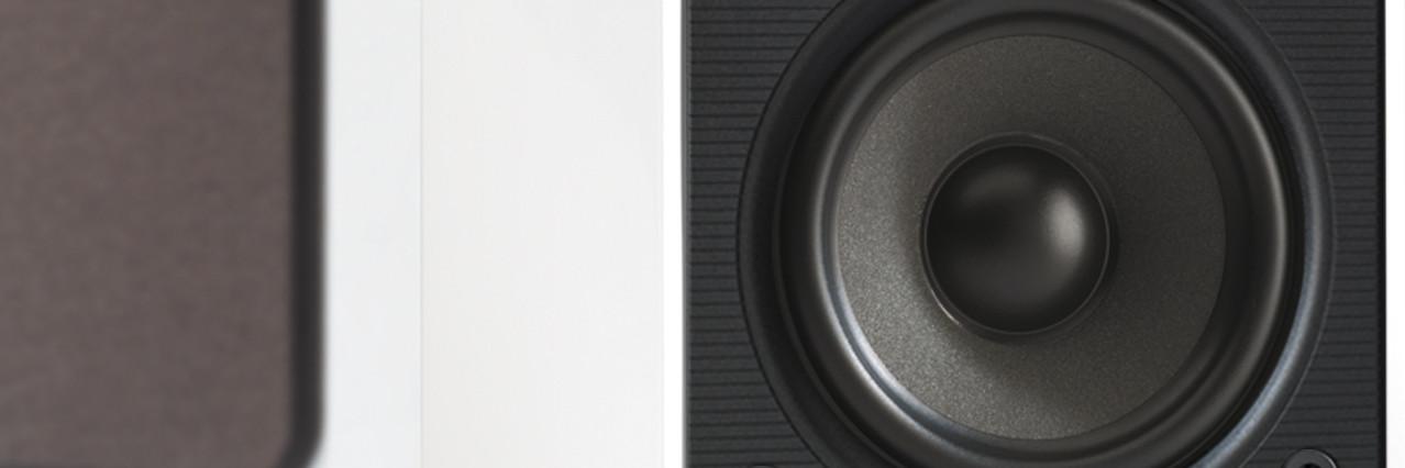 Reproduction audio haute fidélité du M4 de Q-Acoustics