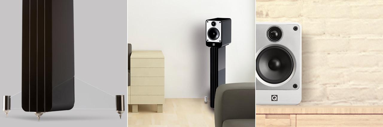 Reproduction audio haute fidélité M4 de Q-Acoustics